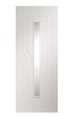 XL Joinery Potenza Pre-Finished White Clear Internal Glazed DoorXL Joinery Potenza Pre-Finished White Clear Internal Glazed Door