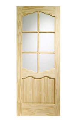 XL Joinery Riviera Clear Pine Clear Internal Glazed DoorXL Joinery Riviera Clear Pine Clear Internal Glazed Door