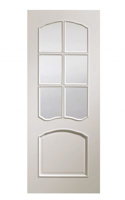 XL Joinery Riviera Pre-Finished White Bevelled Internal Glazed DoorXL Joinery Riviera Pre-Finished White Bevelled Internal Glazed Door