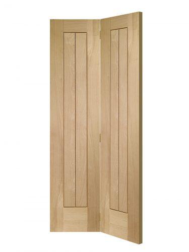 XL Joinery Suffolk Bi-Fold Oak Internal Door
