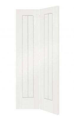 XL Joinery Suffolk White Primed Bi-Fold Internal DoorXL Joinery Suffolk White Primed Bi-Fold Internal Door