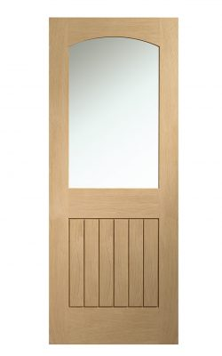XL Joinery Sussex Internal Oak Door with Clear GlassXL Joinery Sussex Internal Oak Door with Clear Glass
