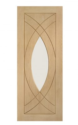 XL Joinery Treviso Pre-Finished Internal Oak Door with Clear GlassXL Joinery Treviso Pre-Finished Internal Oak Door with Clear Glass