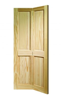 XL Joinery Victorian 4 Panel Bi-fold Clear Pine Internal DoorXL Joinery Victorian 4 Panel Bi-fold Clear Pine Internal Door