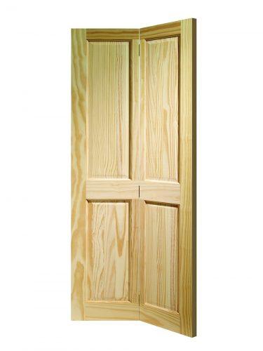 XL Joinery Victorian 4 Panel Bi-fold Clear Pine Internal Door
