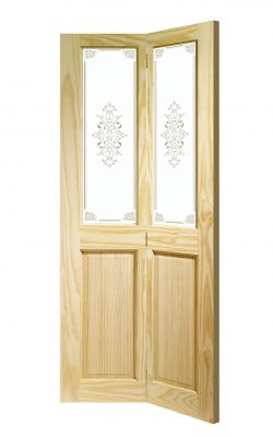 XL Joinery Victorian Bi-Fold Clear Pine Campion Glass Internal Glazed DoorXL Joinery Victorian Bi-Fold Clear Pine Campion Glass Internal Glazed Door