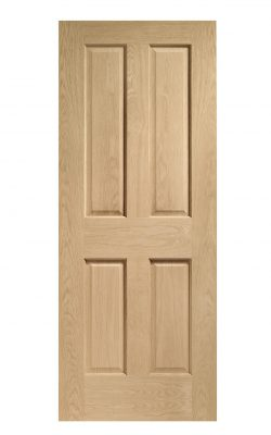 XL Joinery Victorian 4 Panel Oak Internal DoorXL Joinery Victorian 4 Panel Oak Internal Door