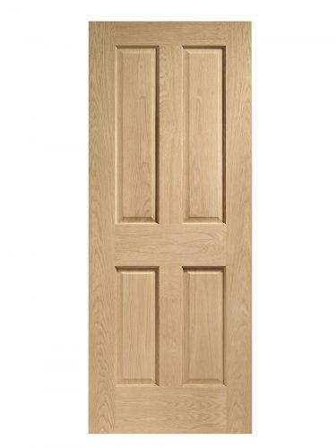 XL Joinery Victorian 4 Panel Oak Internal Door
