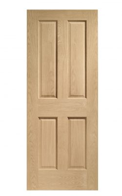 XL Joinery Victorian 4 Panel Oak FD30 Fire DoorXL Joinery Victorian 4 Panel Oak FD30 Fire Door