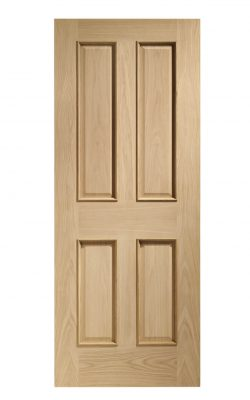 XL Joinery Victorian 4 Panel With Raised Mouldings Internal Oak Fire DoorXL Joinery Victorian 4 Panel With Raised Mouldings Internal Oak Fire Door