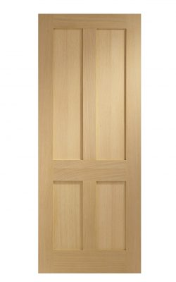 XL Joinery Victorian Shaker 4 Panel Oak FD30 Fire DoorXL Joinery Victorian Shaker 4 Panel Oak FD30 Fire Door