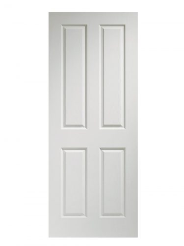 XL Joinery Victorian 4 Panel Pre-Finished White Moulded Internal Door