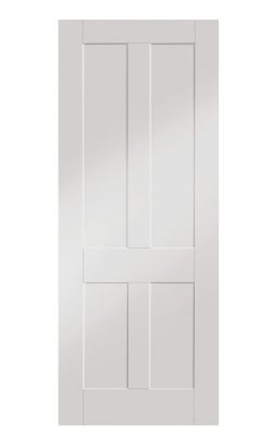 XL Joinery Victorian Shaker White Primed FD30 Fire DoorXL Joinery Victorian Shaker White Primed FD30 Fire Door