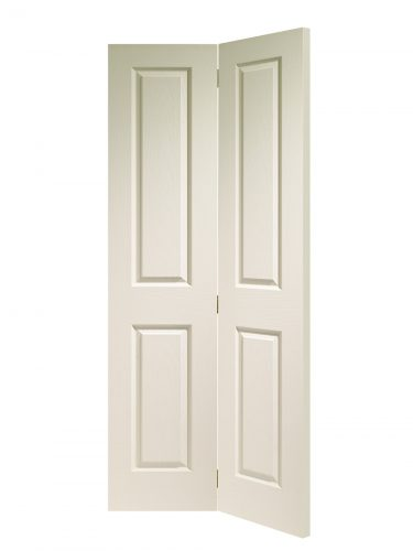XL Joinery Victorian 4 Panel Bi-Fold White Moulded Internal Door