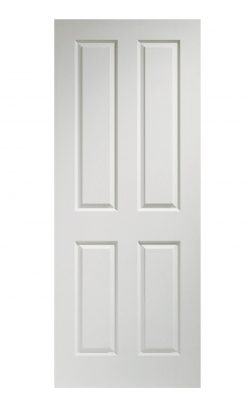 XL Joinery Victorian 4 Panel White Moulded FD30 Fire DoorXL Joinery Victorian 4 Panel White Moulded FD30 Fire Door