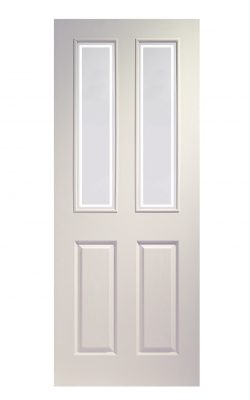XL Joinery Victorian White Moulded Clear Internal Glazed DoorXL Joinery Victorian White Moulded Clear Internal Glazed Door