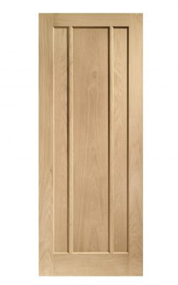 XL Joinery Worcester 3 Panel Oak FD30 Fire DoorXL Joinery Worcester 3 Panel Oak FD30 Fire Door