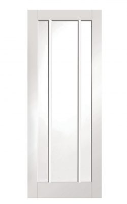 XL Joinery Worcester White Primed Clear Glazed FD30 Fire DoorXL Joinery Worcester White Primed Clear Glazed FD30 Fire Door
