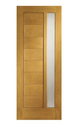 XL Joinery Modena Double Glazed Oak (Dowelled) Frosted Glazed External DoorXL Joinery Modena Double Glazed Oak (Dowelled) Frosted Glazed External Door