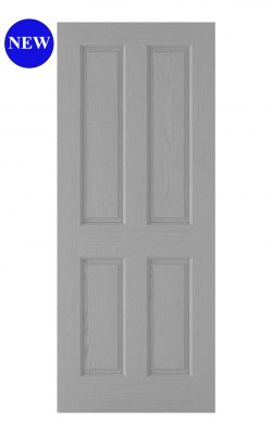 LPD Moulded Textured 4 Panel Grey Internal DoorLPD Moulded Textured 4 Panel Grey Internal Door