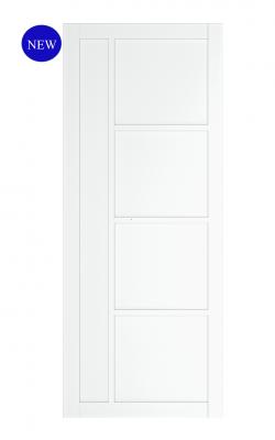 Deanta Brixton White Primed Internal DoorDeanta Brixton White Primed Internal Door