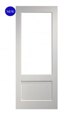 Deanta Madison White Primed Internal Glazed DoorDeanta Madison White Primed Internal Glazed Door