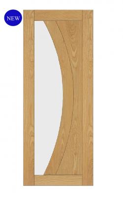 Deanta Ravello Pre-Finished Oak Internal Glazed DoorDeanta Ravello Pre-Finished Oak Internal Glazed Door