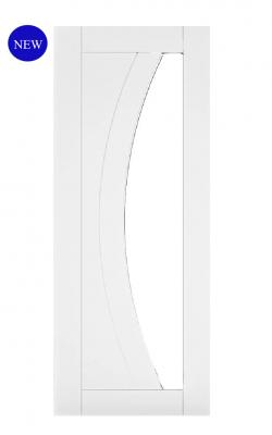 Deanta Ravello White Primed Internal Glazed DoorDeanta Ravello White Primed Internal Glazed Door