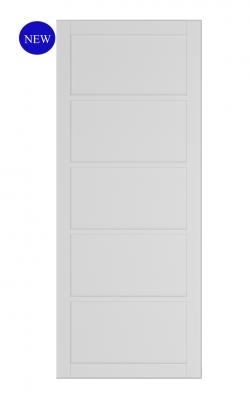 Deanta Shoreditch White Primed Internal DoorDeanta Shoreditch White Primed Internal Door